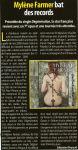 Mylène Farmer Musique Info Hebdo 11 juillet 2008