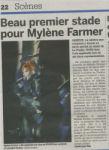 Mylène Farmer 20 Minutes 07 septembre 2009