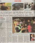Mylène Farmer 24 heures 07 septembre 2009