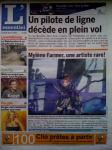 Mylène Farmer Presse L'essentiel 19 juin 2009