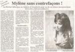 Mylène Farmer Presse L'Est Républicain 14 juin 2009
