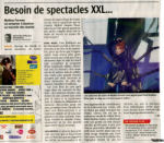 Mylène Farmer Presse La Dernière Heure 22 juin 2009