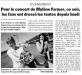 Mylène Farmer Presse La Voix du Nord 19 juin 2009