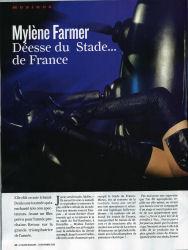 Mylène Farmer Presse Le Figaro Magazine 12 septembre 2009