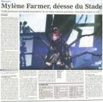 Mylène Farmer Le JDD 12 septembre 2009