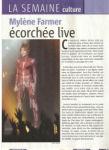 Mylène Farmer Presse Télé Moustique juin 2009