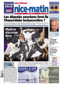 Mylène Farmer Presse Nice Matin 03 mai 2009