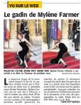 Mylène Farmer Le Parisien 04 mars 2010