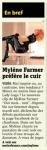 Mylène Farmer Metro 18 novembre 2010
