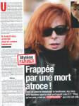Mylène Farmer France Dimanche 22 au 28 juillet 2011
