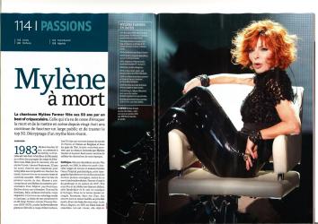 Mylène Farmer Presse L'hebdo 24 novembre 2011