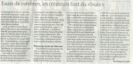Mylène Farmer Le Monde 07 juillet 2011