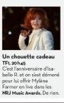 Mylène Farmer Presse Libération 22 janvier 2011