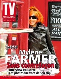 Mylène Farmer Presse TV Magazine du 17 au 23 juillet 2011