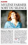 Mylène Farmer Presse Direct Matin 03 décembre 2012