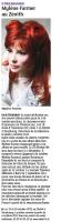 Mylène Farmer Presse Les Dernières Nouvelles d'Alsace 28 septembre 2012