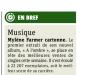 Mylène Farmer Presse Metro 07 décembre 2012