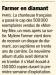 Mylène Farmer Presse 20 Minutes Suisse 04 Janvier 2013