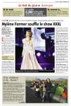 Mylène Farmer Presse La Montagne 03 décembre 2013