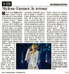 Mylène Farmer Presse Le Figaro Magazine 13 septembre 2013