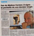 Mylène Farmer Presse Le Maine Livre 10 septembre 2013