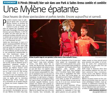 Mylène Farmer Presse Le Midi Libre 02 octobre 2013