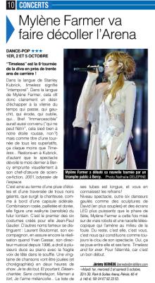 Mylène Farmer Presse Le Midi Libre 27 septembre 2013