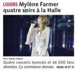 Presse Mylène Farmer Le Progrès 23 septembre 2013