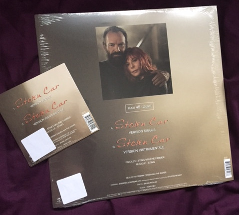Mylène Farmer et Sting - Stolen Car - CD Single